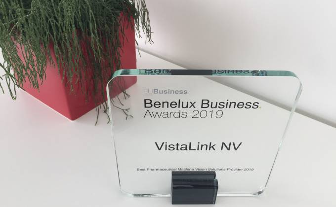 Award - Best Pharmaceutical Machine Vision Solutions Provider 2019