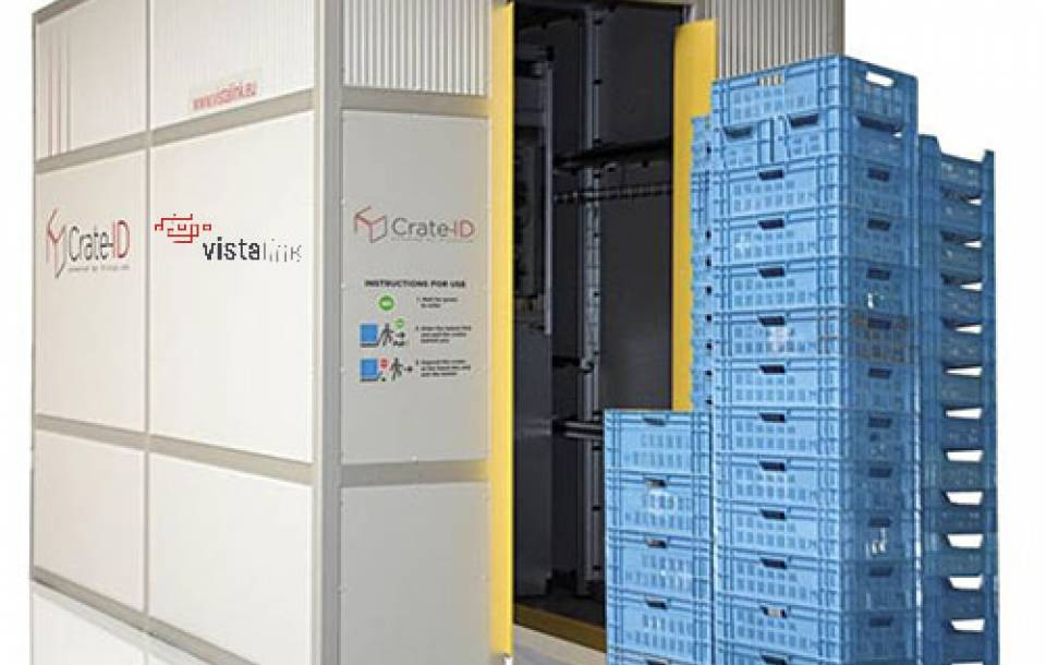 Crate-ID™ for counting and Track & Trace returnable Transit Items (RTI's)