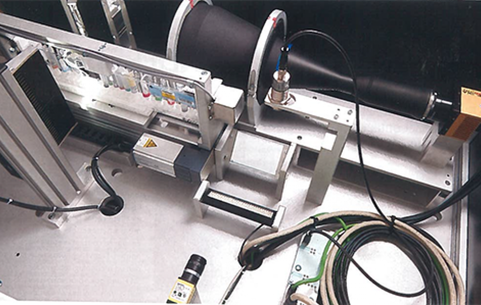 Linear Camera for image acquisition